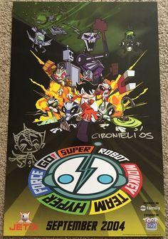 Super Robot Monkey Team Hyperforce Go!: Season 1