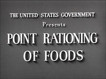 Point Rationing Of Foods