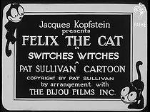Felix The Cat Switches Witches