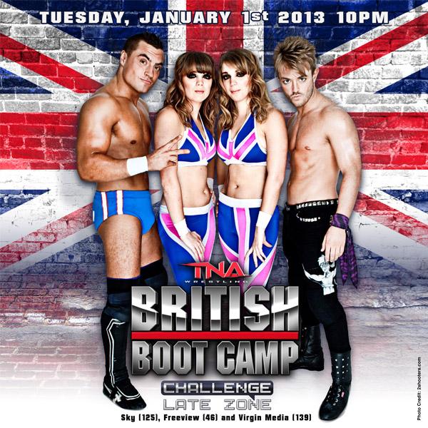 Tna British Boot Camp: Season 2