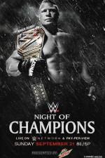 Wwe Night Of Champions