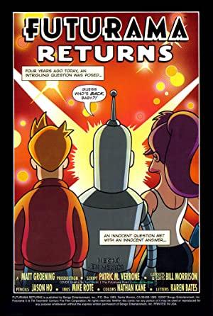 'futurama' Returns