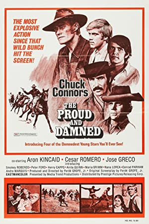 The Proud And Damned 1972