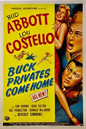 Buck Privates Come Home