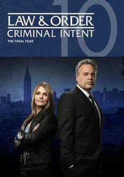 Law & Order: Criminal Intent: Season 10