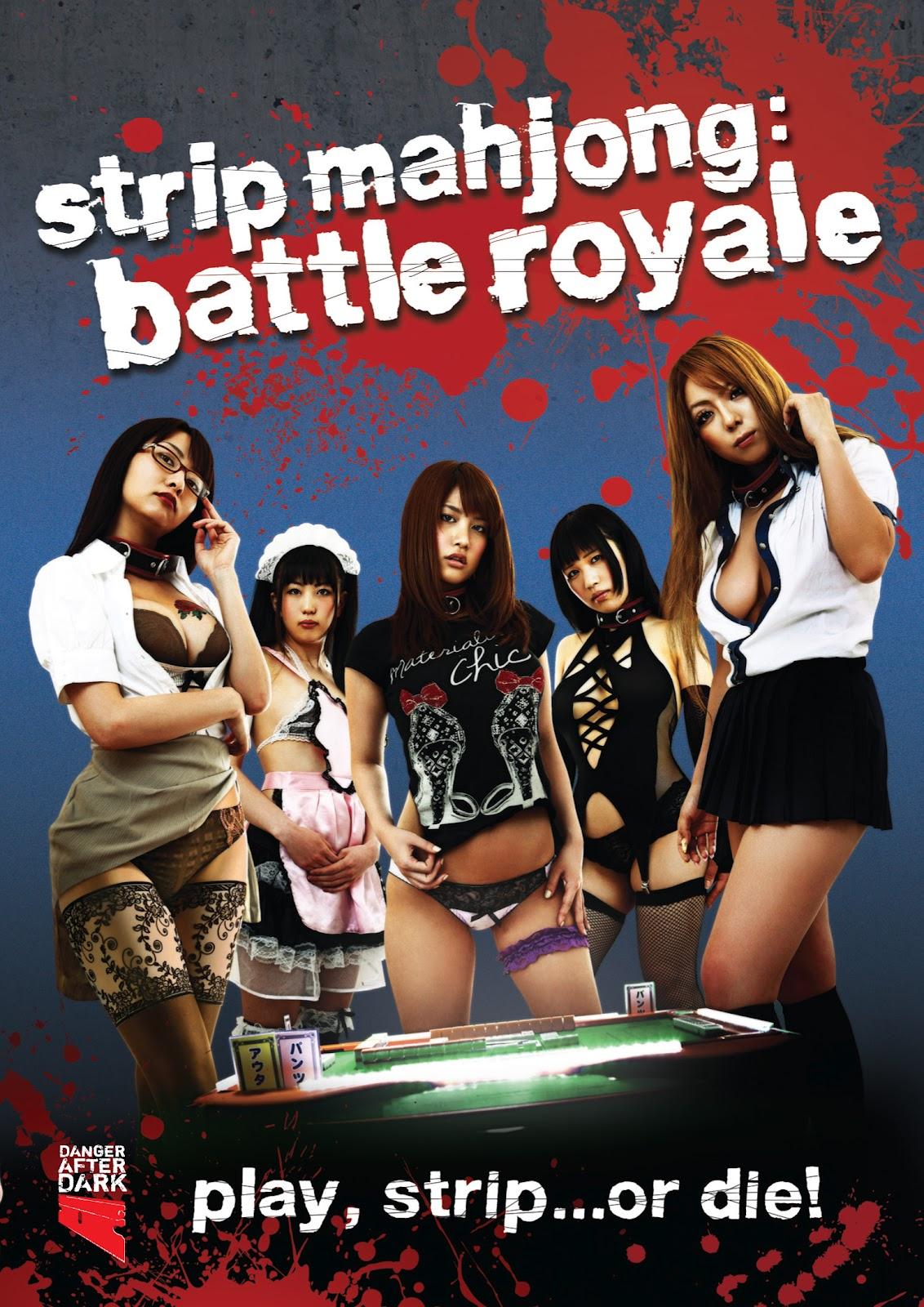Strip Mahjong Battle Royale