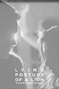 Lying Posture Of A Lion